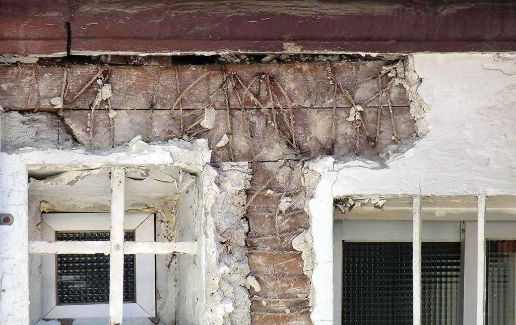 Sistemas constructivos más frecuentes en los edificios. Madera.