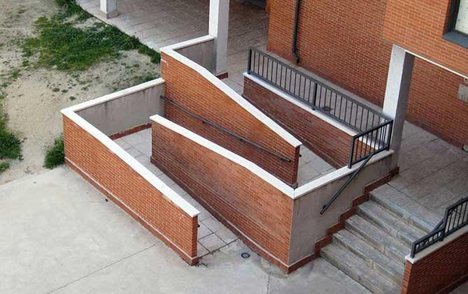 Novedades para la ite 2012 sostenibilidad y accesibilidad for Escalera discapacitados