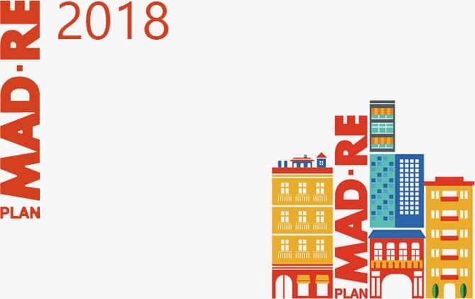 Plan MAD-RE 2018 - Ayudas a la rehabilitación en Madrid.