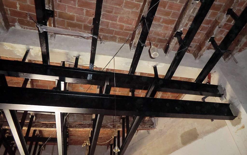 Rehabilitación de forjados de madera.