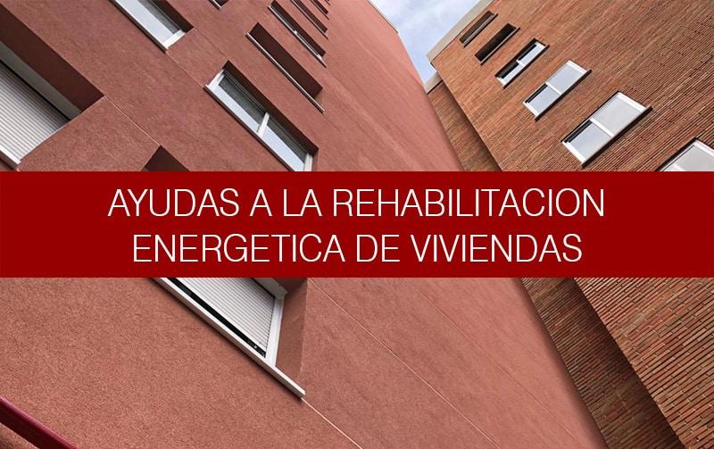 La rehabilitación como inversión eficiente.