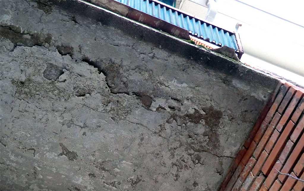 Terrazas y balcones lesiones tipo rt arquitectura for Remate de terrazas