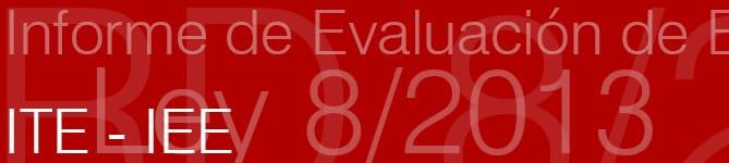 Informe de Evaluación de Edificios IEE.