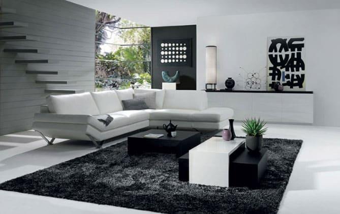 Sal n minimalista consejos y ejemplos rt arquitectura - Salon minimalista moderno ...