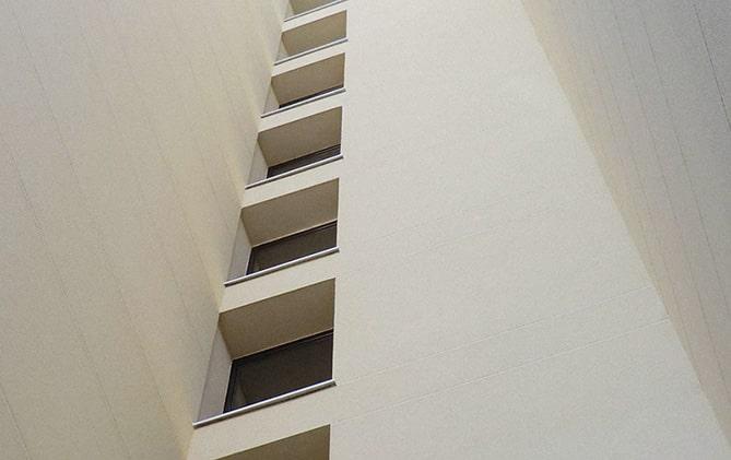 Rehabilitación de fachada con sistema SATE.