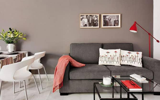 Sal n peque o consejos para decorar rt arquitectura - Color para el salon ...